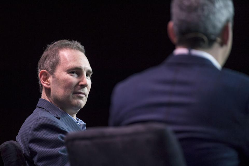Andy Jassy, chief executive officer of Amazon Web Services. (Photographer: David Paul Morris/Bloomberg)