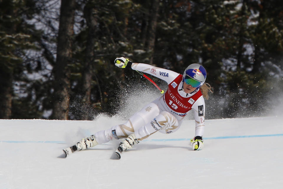 Lindsey Vonn wants one more shot at Lake Louise in Canada. (Getty)