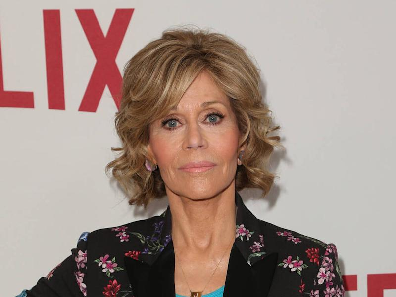 Jane Fonda: 'Climate change activism saved me from depression'
