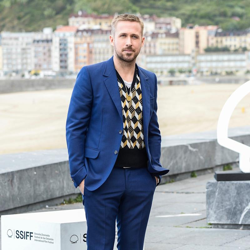 Ryan Gosling Wore A Sweater Vest Againthis Time With A Suit