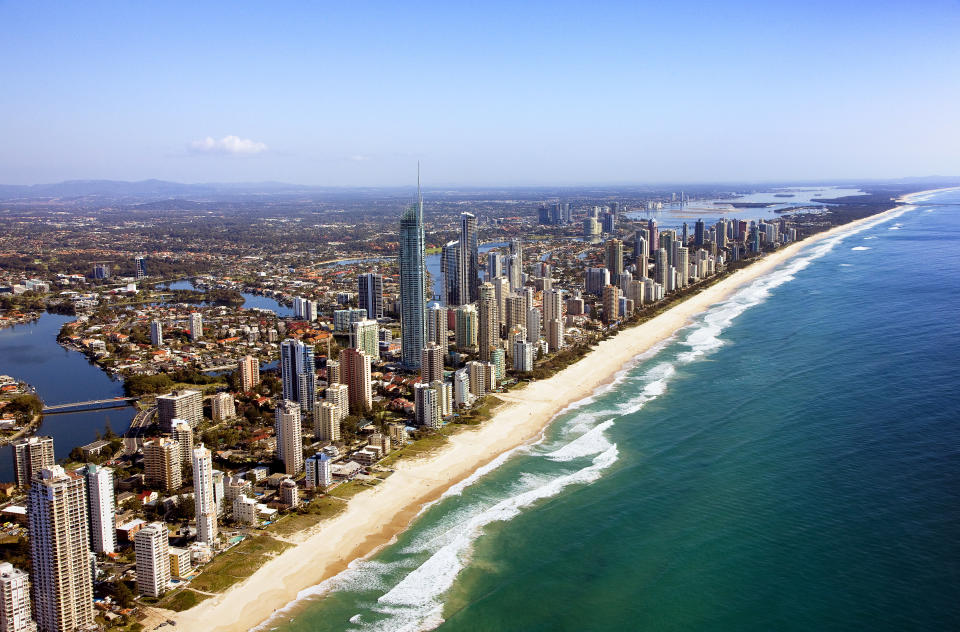 Gold Coast, QLD – a city of sun and surf, but also great good. Photo: Getty