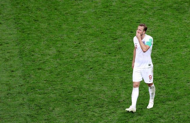 Kane was part of the England team which lost to Croatia at the 2018 World Cup.