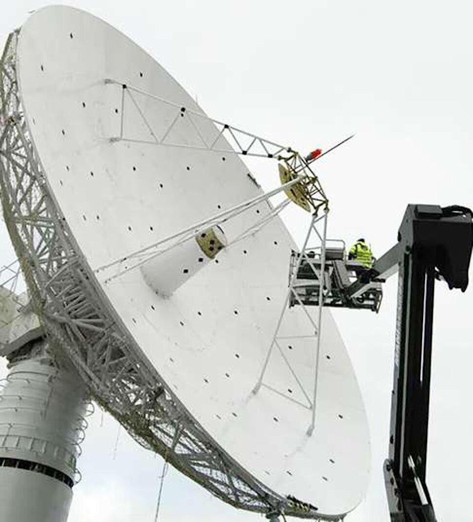 Tracking stations on the ground have traditionally been used to get precise location information for spacecraft and satellites. Photo: Handout