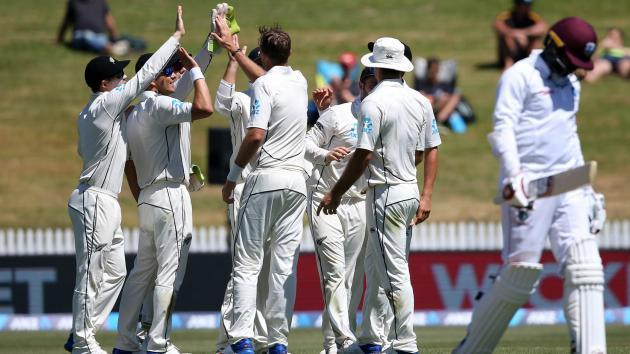 <p>New Zealand sweep Windies with 240-run victory</p>