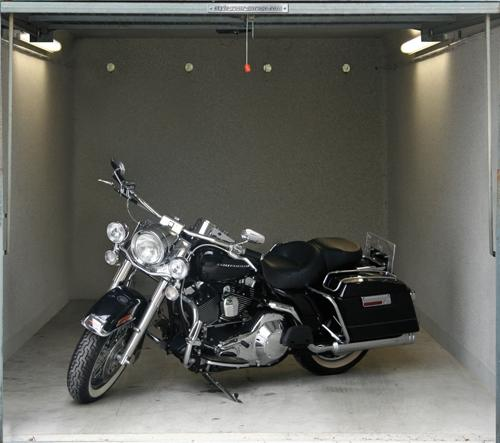 "<b>Road King Motorcycle</b><br> (Price: $134)<br><br>   Credit: <a href=""https://www.style-your-garage.com/us/Garage-mural/?cur=3"">style-your-garage.com</a>"