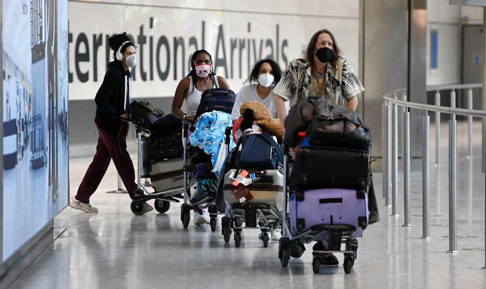 Amber list travellers may be able to forgo quarantine (EPA)