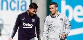 Lionel Messi pens heartfelt message for sacked coach Ernesto Valverde