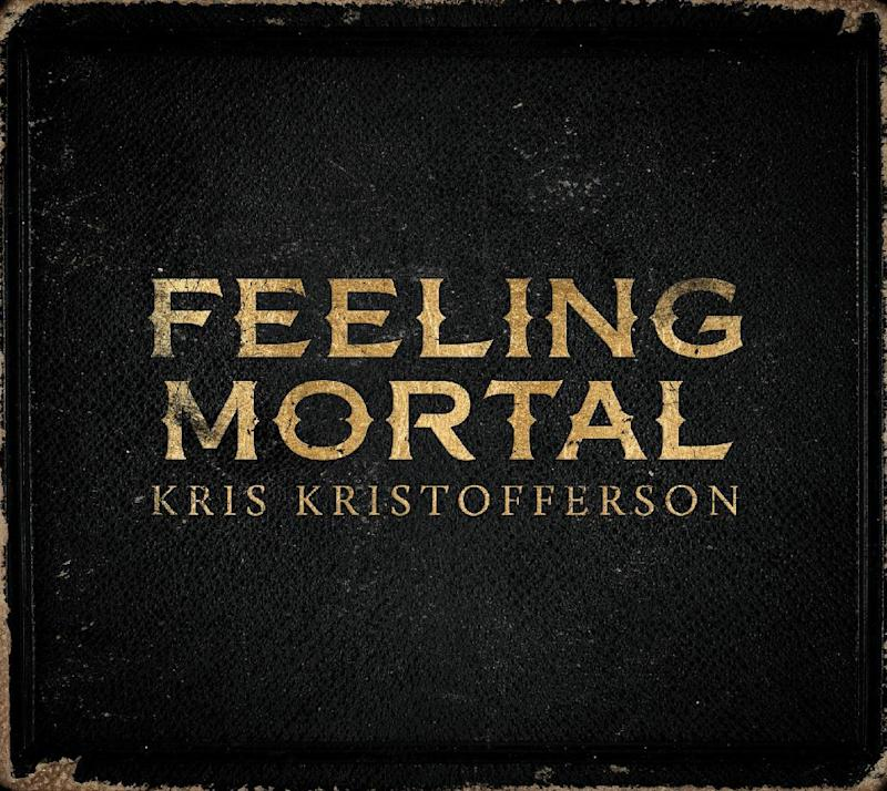 """This CD cover image released by KK shows """"Feeling Mortal,"""" by Kris Kristofferson. (AP Photo/KK)"""