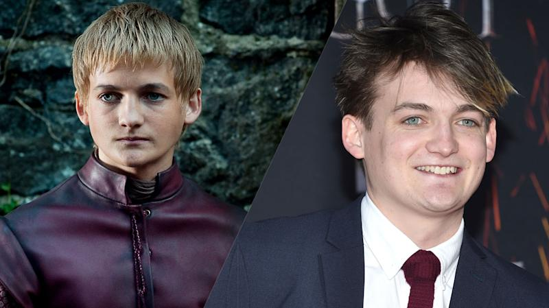 Jack Gleeson then and now (credit: HBO)