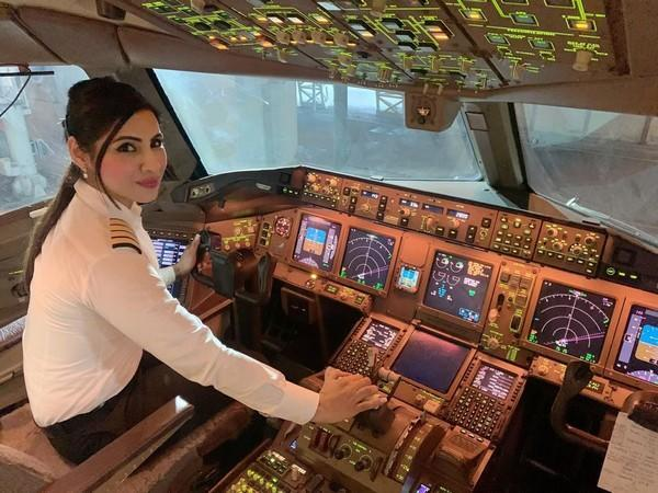 Captain Zoya Agarwal who will command the flight between San Francisco to Bengaluru via the polar route [Photo/ANI]