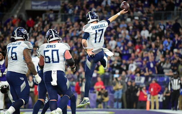 The Titans pulled off a remarkable victory in Baltimore - USA TODAY Sports
