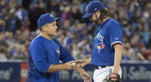 Jason Grilli is among a number of Toronto Blue Jays relievers in the midst of some serious struggles right now. (Fred Thornhill/CP)