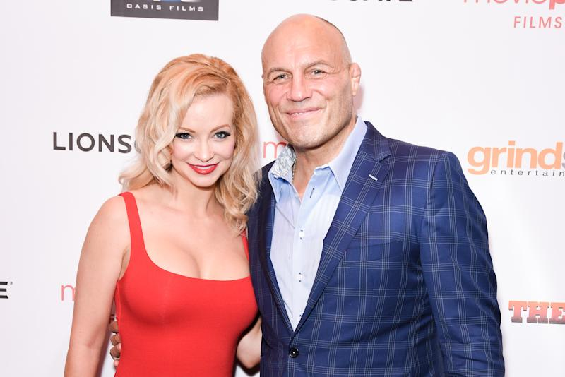 Mindy Robinson and UFC Hall of Famer Randy Couture