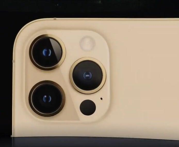 The iPhone 12 Pro's cameraApple
