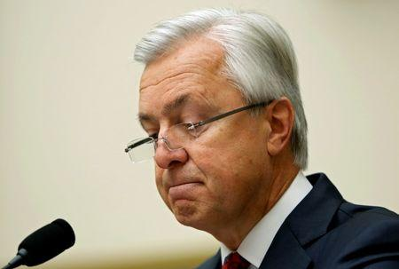 Wells Fargo CEO Stumpf testifies before the House Financial Services Committee on Capitol Hill  in Washington