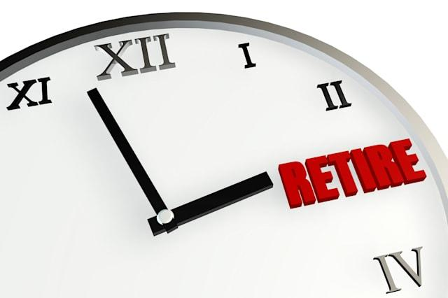 Retirement Time Coming Soon and Planning on Clock
