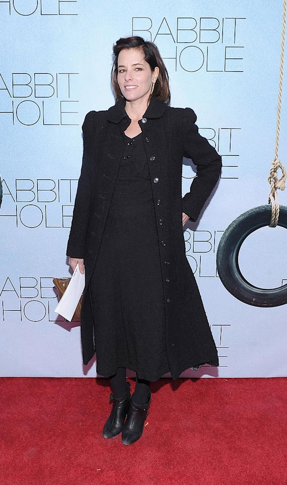 """<a href=""""http://movies.yahoo.com/movie/contributor/1800020046"""">Parker Posey</a> at the New York City premiere of <a href=""""http://movies.yahoo.com/movie/1810089784/info"""">Rabbit Hole</a> on December 2, 2010."""