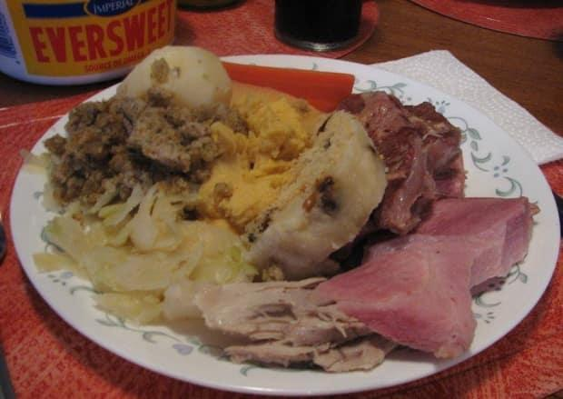 The name Jiggs dinner is actually a long outdated pop culture reference, writes Ainsley Hawthorn. (Submitted by Dan O'Rourke - image credit)