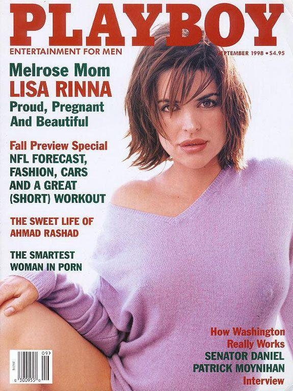 <p><strong>Issue: </strong>September 1998</p><p>Lisa Rinna made a slouchy sweater sexy as hell in the September 1998 issue. </p>