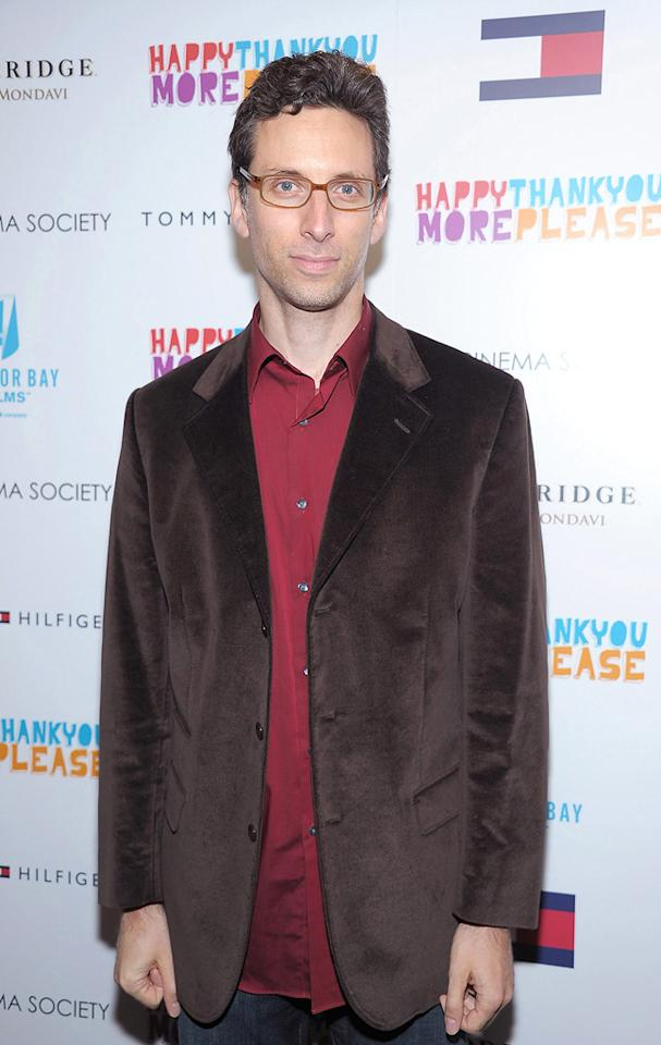 """<a href=""""http://movies.yahoo.com/movie/contributor/1800023981"""">Ben Shenkman</a> attends the New York Cinema Society screening of <a href=""""http://movies.yahoo.com/movie/1810097669/info"""">HappyThankYouMorePlease</a> on March 2, 2011."""