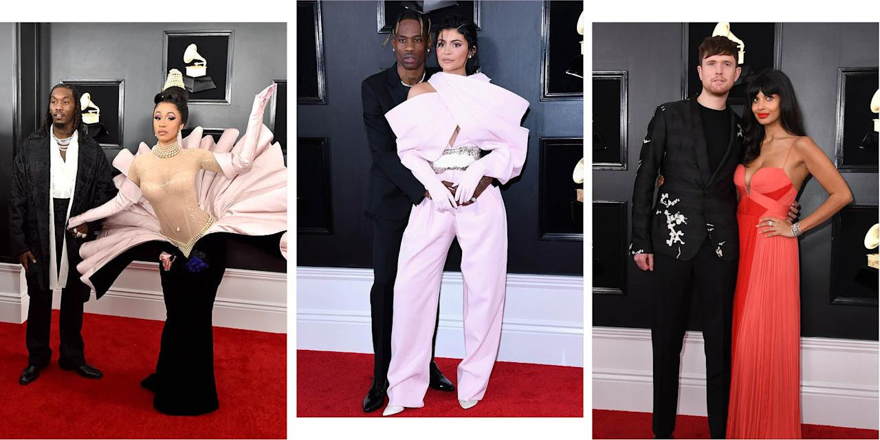 "<p>Ah, awards season. What else do we love more, apart from <a rel=""nofollow"" href=""https://www.cosmopolitan.com/uk/fashion/celebrity/g26276421/grammys-2019-red-carpet/"">perusing all of the beautiful dresses?</a> Fawning - and reigning in our jealousy - over the cutest couples and all the PDA (we're looking at you, <a rel=""nofollow"" href=""https://www.cosmopolitan.com/entertainment/a26277052/cardi-b-offset-grammy-awards/"">Cardi B and Offset</a>) on the red carpet, of course!</p><p>Here are the most adorable and gorgeous couples from the 2019 <a rel=""nofollow"" href=""https://www.cosmopolitan.com/uk/grammys/"">Grammy awards.</a></p>"