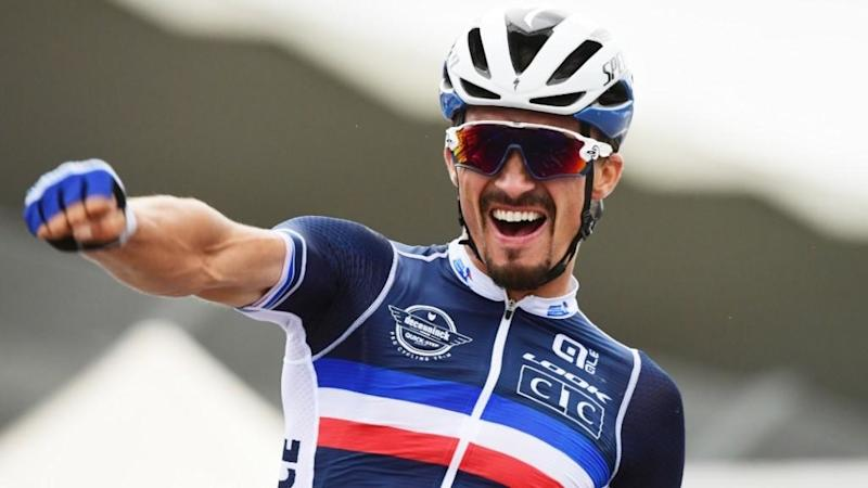 Alaphilippe becomes France's first road race world champion since 1997