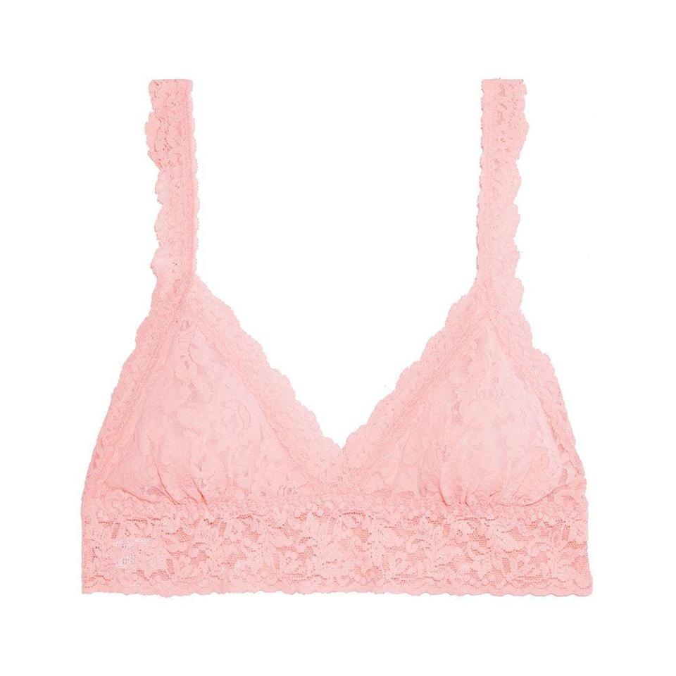 """<p><strong>HANKY PANKY</strong></p><p>theoutnet.com</p><p><a href=""""https://go.redirectingat.com?id=74968X1596630&url=https%3A%2F%2Fwww.theoutnet.com%2Fen-us%2Fshop%2Fproduct%2Flingerie%2Fbras%2F113-scalloped-stretch-lace-bralette%2F15546005221833115&sref=https%3A%2F%2Fwww.harpersbazaar.com%2Ffashion%2Ftrends%2Fg36532446%2Foutnet-spring-sale%2F"""" rel=""""nofollow noopener"""" target=""""_blank"""" data-ylk=""""slk:Shop Now"""" class=""""link rapid-noclick-resp"""">Shop Now</a></p><p><strong><del>$46</del> $23 (50% off)</strong></p>"""