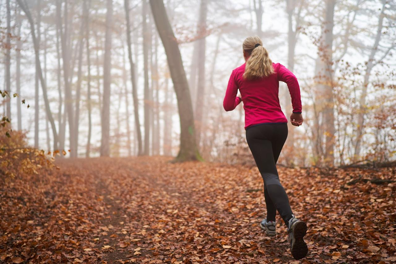 """<p>Running can absolutely help you maintain weight loss by burning calories, said ACE-certified trainer and weight-loss health coach <a href=""""https://radicalstrength.ca/"""" target=""""_blank"""" class=""""ga-track"""" data-ga-category=""""Related"""" data-ga-label=""""https://radicalstrength.ca/"""" data-ga-action=""""In-Line Links"""">Rachel MacPherson</a>. """"As long as you aren't consuming more than you're burning, you should be able to maintain your weight this way,"""" she said.</p> <p>""""To maintain your weight loss, you have to keep up the same amount of activity (calorie output) used to lose the weight, or slowly reduce the amount of activity over time,"""" to give your body time to adjust, explained exercise physiologist and NASM-certified personal trainer, Krissi Williford, MS, from <a href=""""www.xcitefitnessal.com"""" class=""""ga-track"""" data-ga-category=""""Related"""" data-ga-label=""""www.xcitefitnessal.com"""" data-ga-action=""""In-Line Links"""">Xcite Fitness</a>. She said that running helps maintain your calorie expenditure. She also noted that running is also excellent cardiovascular exercise for heart health and for mental health.</p> <p>It's also important to keep in mind that although it 100-percent will help you burn calories and keep you moving, NASM-certified personal trainer Jared Hamilton said, """"You're not going to be building much muscle."""" Having more muscle mass means your body is burning more calories when it's at rest, which can help with weight-loss maintenance (more on that later).</p>"""