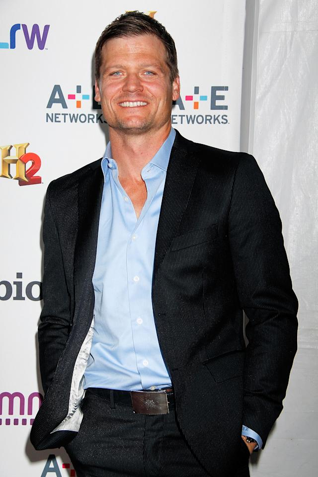 NEW YORK, NY - MAY 08:  Bailey Chase attends A&E Networks 2013 Upfront at Lincoln Center on May 8, 2013 in New York City.  (Photo by Laura Cavanaugh/Getty Images)