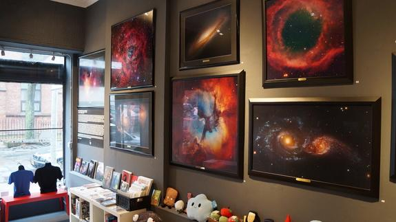 Throughout the month of March, Robert Gendler's astrophotographs are on display at Grumpy Bert gallery in Brooklyn.