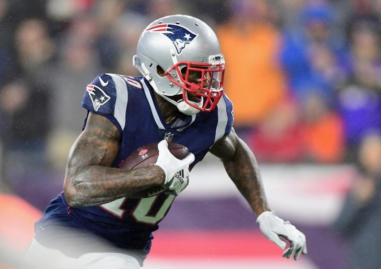 Josh Gordon, on the way to a touchdown for New England against Minnesota on December 2, 2018, has been conditionally reinstated in the wake of his suspension for violating the NFL's substance abuse policy
