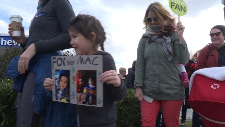 Toddler tragedy emboldens Vancouver parents to rally for $10-a-day child care
