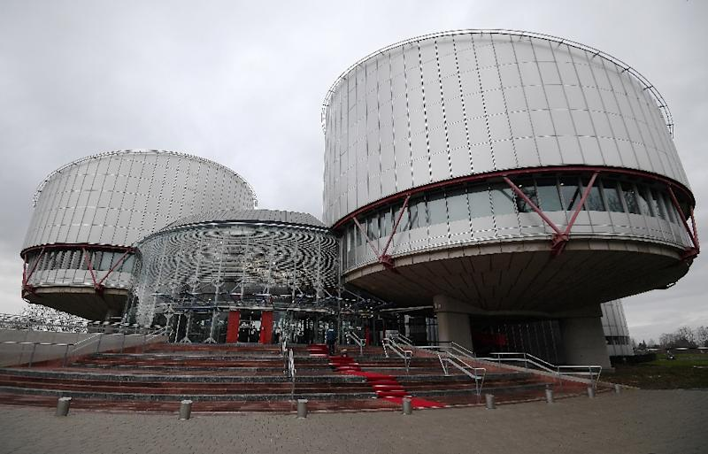 Russia risks exiting the jurisdiction of the European Court of Human Rights, raising fears among human rights groups (AFP Photo/FREDERICK FLORIN)