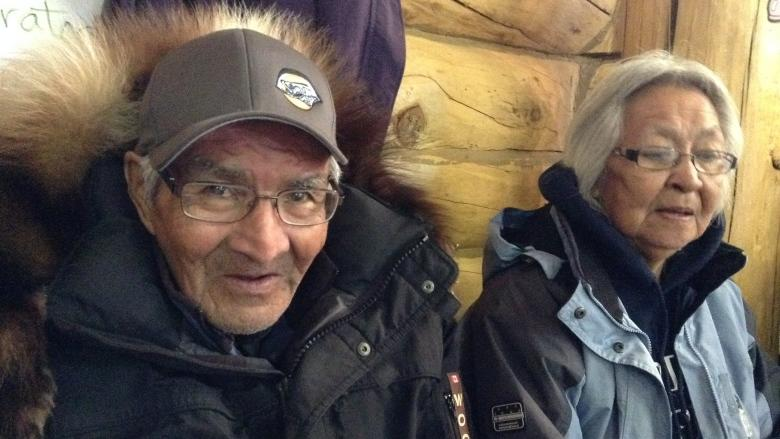 'Determined' N.W.T. elders snowmobile to Old Crow, Yukon, 7-year-old grandson in tow