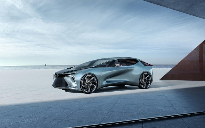 <p><strong>Managing Editor Greg Rasa:</strong> Someone said this car looks like a doorstop — if so, it must prop open the door to the future. I think it looks cool, like a Lexus LC that's been fitted with warp drive. It packs 536 horsepower and a 110 kWh battery, so if Lexus brings anything remotely like this to market, it'll enter the EV derby in a big way.</p> <p><strong>Senior Editor, Green, John Snyder:</strong> Elegant and loaded with tech, Lexus looks like it intends to make a driver's car for the EV set. Based on Lexus' current offerings and the vision put forth here, I can't wait to see what makes it to production.</p> <p><strong>Senior Producer Chris McGraw:</strong> It doesn't look it from the photos, but this Lexus is big and beautiful, and shows that they're actually going to get into the EV game. The design language is a bit too futuristic for me, but that's exactly what they were going for, and 2030 will be here before we know it. </p>