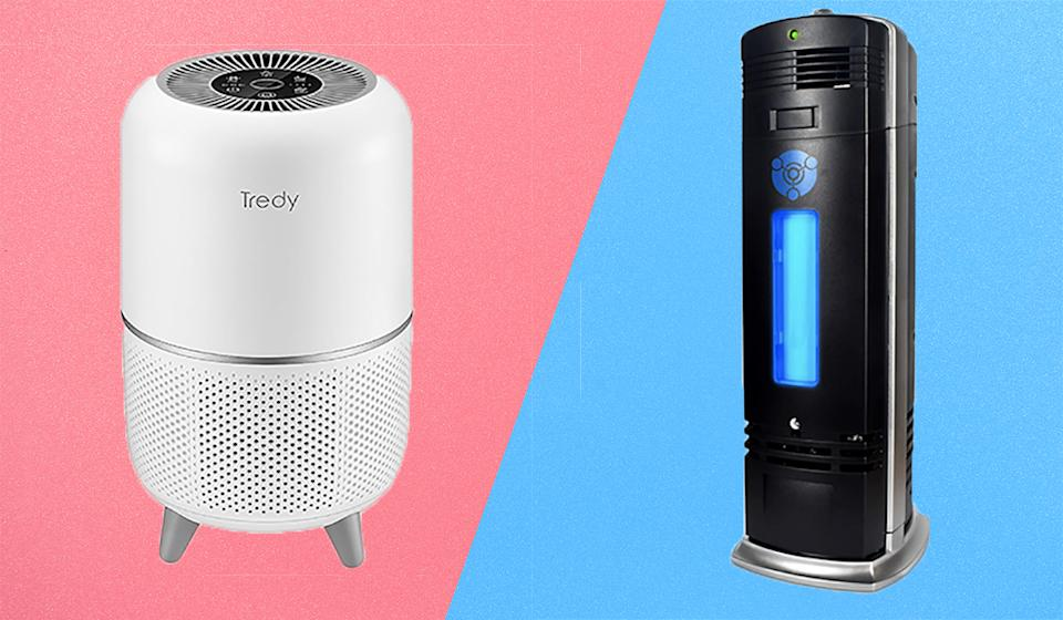 Air purifiers have gotten cool.  (Photo: Amazon)
