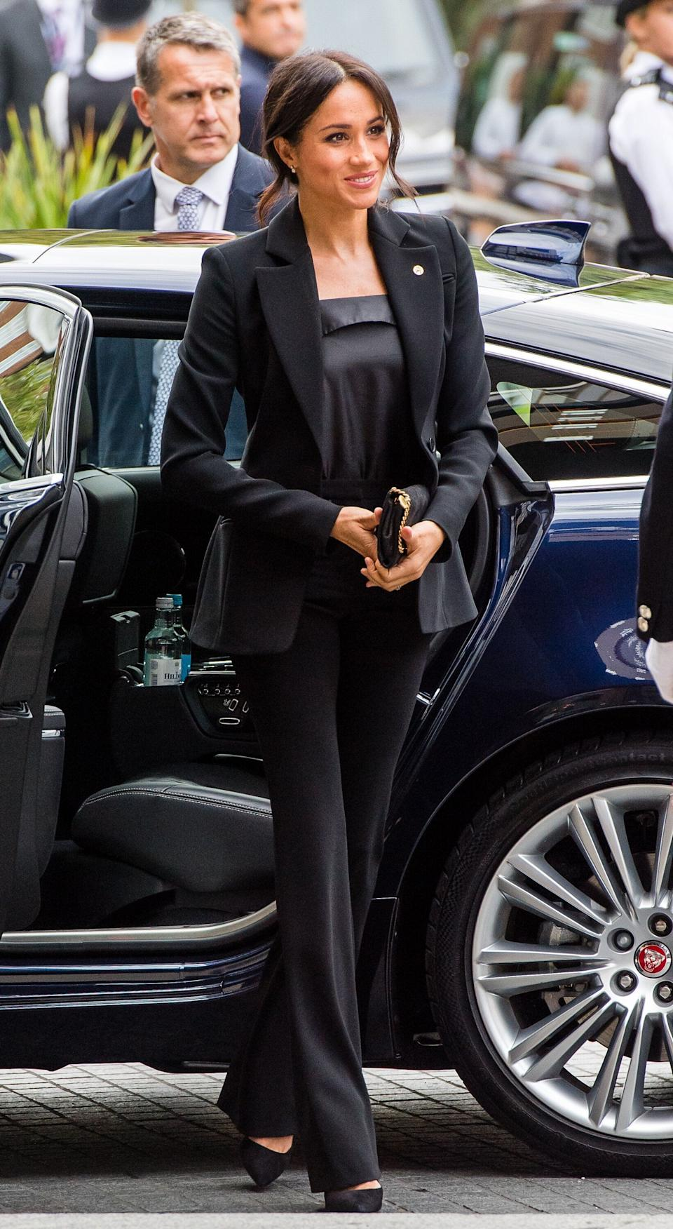 Meghan, Duchess of Sussex attends the WellChild awards at Royal Lancaster Hotel on September 4, 2018 in London, England. The Duke of Susssex has been patron of WellChild since 2007. (Photo: Samir Hussein/Samir Hussein/WireImage)