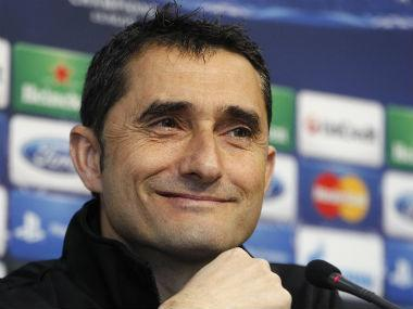 Barcelona need to put their painful Champions League exit to Roma behind them and concentrate on winning the Spanish league, their coach Ernesto Valverde said on Friday.