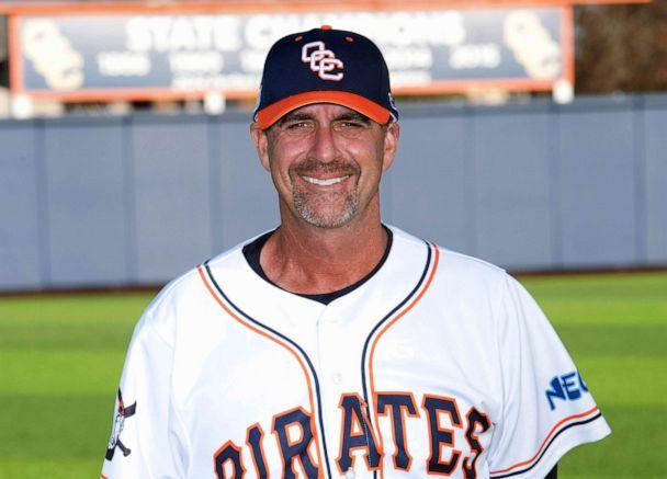 PHOTO: Head baseball coach John Altobelli in an undated photo released by the Orange Coast Collage. John Altobelli, his wife Keri and daughter Alyssa were among those killed in the helicopter crash with Kobe Bryant in Calabasas, Calif. Jan. 26, 2020. (Orange Coast College via AP)