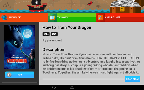 How to Train Your Dragon download page