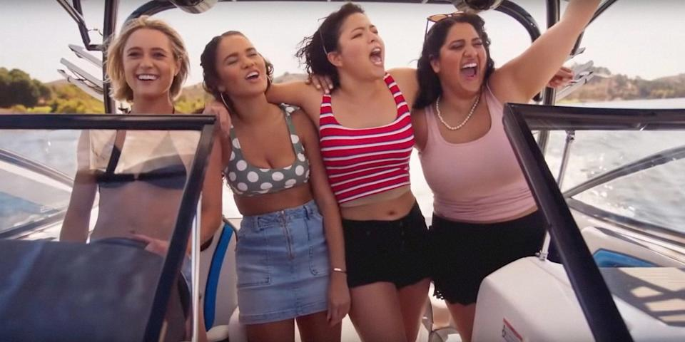 """<p> It's their senior year, and Annie, Kayla, Michelle, and Stephanie are determined to make it one to remember. Watch <strong><a href=""""http://www.netflix.com/search?q=American%20Pie%20Presents%3A%20Girls%27%20Rules&amp;jbv=81053964"""" class=""""link rapid-noclick-resp"""" rel=""""nofollow noopener"""" target=""""_blank"""" data-ylk=""""slk:American Pie Presents: Girls' Rules"""">American Pie Presents: Girls' Rules</a></strong> on Netflix now.</p>"""