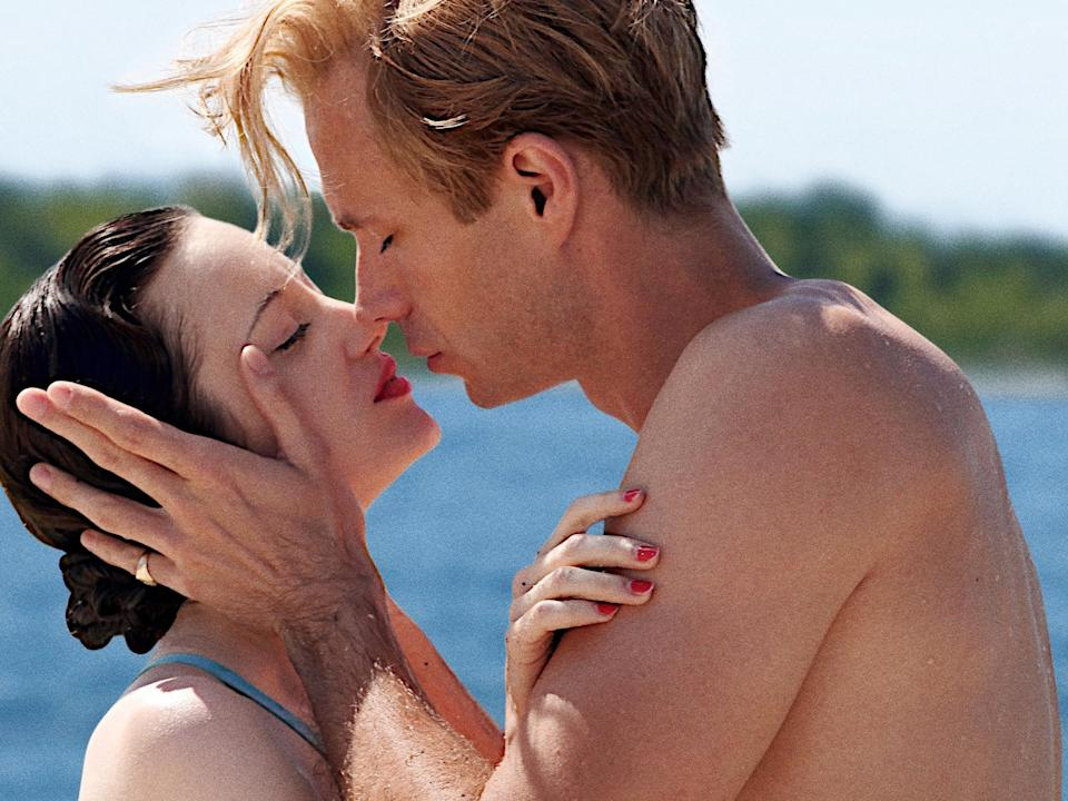 <p>Andrea Riseborough and James D'Arcy in the 2011 romance drama 'W.E.'</p>Rex Features