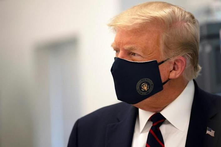 US President Donald Trump had adamantly refused to advocate for the wearing of masks until mid-July