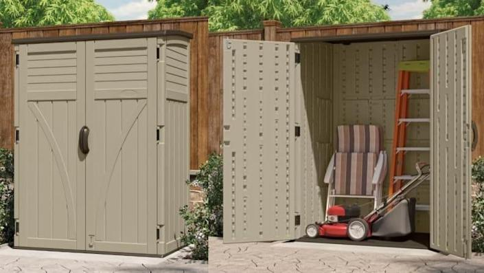 Keep all your yard tools neat and organized.