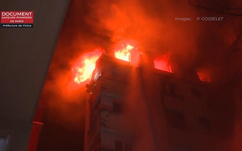 Paris fire: Ten dead as woman arrested for 'revenge arson attack on fireman neighbor' at apartment block
