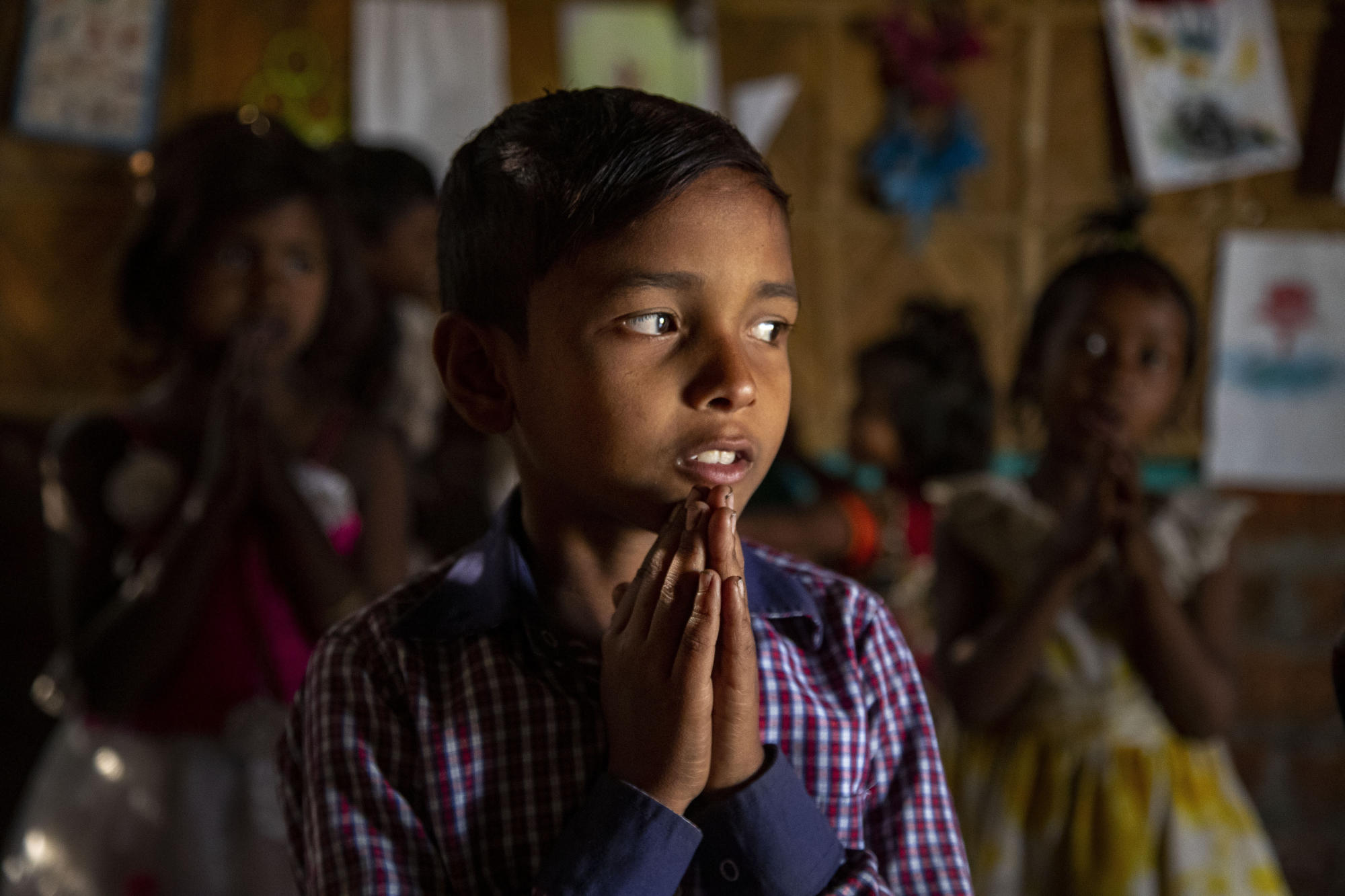 AP PHOTOS: A day in the life of an Indian child scavenger