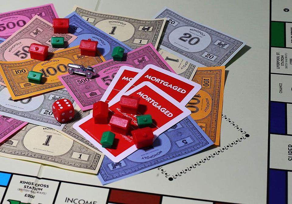 "<p>Neiman-Marcus sold a Monopoly set <a href=""https://www.goodhousekeeping.com/home/cleaning/tips/a16147/stains-chocolate-may07/"" rel=""nofollow noopener"" target=""_blank"" data-ylk=""slk:made entirely of chocolate"" class=""link rapid-noclick-resp"">made entirely of chocolate</a> through their catalog for $600. All game pieces and property cards were also edible. Now go directly to jail and eat your way out.</p>"