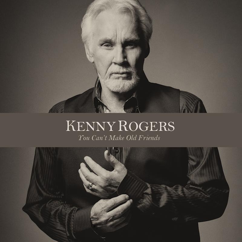"This CD cover image released by Warner Bros/Elektra/Atlantic shows ""You Can't Make Old Friends,"" by Kenny Rogers. (AP Photo/Warner Bros/Elektra/Atlantic)"
