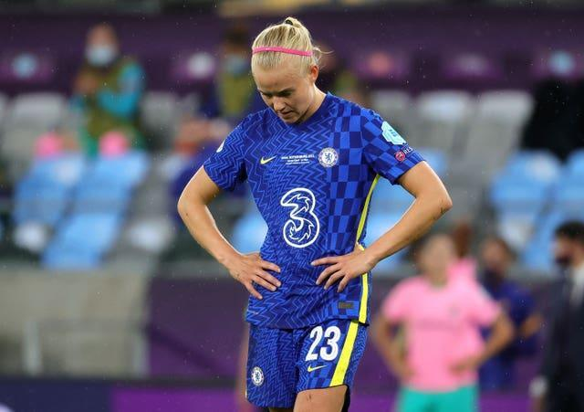 Pernille Harder was the only Chelsea player to have played in a previous final