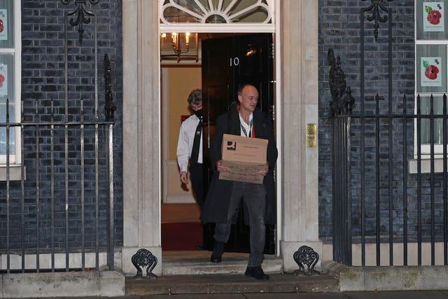Dominic Cummings left Downing Street in the autumn following a power struggle